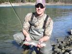Beautiful  Rainbow Trout and Grayling Fishing!