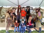 We enjoyed  our most peculiar guests - Hollywood Pirates who performed at Alaska State Fair, so fun!