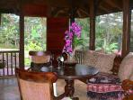 screened lanai, can see no other homes from anywhere inside the house