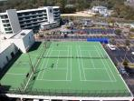 Basketball & Tennis Courts