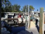 Cannon Marina, Long Boat Key. great place to rent a boat.