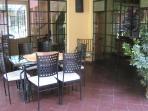 Main floor dining patio