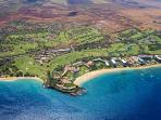 Maui Ka'anapali Beach Club Air View
