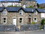 BWTHYN AFON (RIVER COTTAGE), open plan living areawith multi-fuel stove, enclose