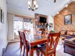 Motherlode Condo Dining Breckenridge Lodging Vacation Rentals