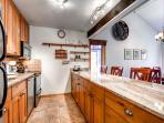 Motherlode Condo Kitchen Breckenridge Lodging Vacation Rentals