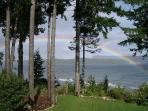 Rainbow over Crome Island