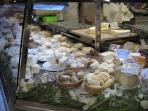 French Cheese in 'Les Halles'