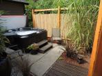 Sweetgrass hot tub
