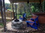 The Barn Private Hot Tub and Gas Firepit