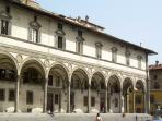 Brunelleschi's masterpiece at the other end of the street