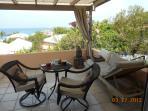 part of terrace overlooking ocean off master bedroom
