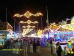 The summer feria in Marbella is a week-long party!