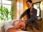 Pamper yourself at the Sandova Spa