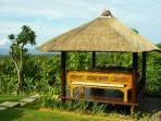 Traditional Gazebos have day beds to relax on