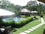 Large landscaped gardens