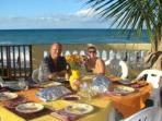 Dining on Patio