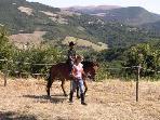 An accompanied ride on Cassie