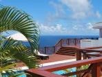 Villa at Panorama at Saline Point, Cap Estate, Saint Lucia - Ocean View, Pool, Air Conditioning