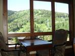 View from the living room overlooking the Deer Valley ski slopes at Lookout 12 - Deer Valley