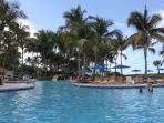 Hotel pool facilities