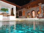 Nothing nicer than a moonlight  swim