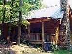 Hemlock Ridge Cabin - front view