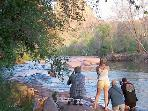 Join these outdoor photographers and hikers at one of the many scenic natural areas like Oak Creek