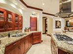 F102 Bali Hai Pool Villa - Well-Equipped Full Kitchen with Espresso Machine, Counter Seating For Three and Indoor...