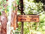 Marazul Paradise Beach House Sign