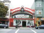 Shopping boutiques on the famous Haight St.