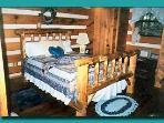 Moonshines master bedroom upstairs