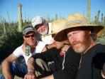 FATHER & SONS IN THE DESERT