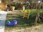 Garden with games