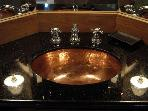Copper sinks and tubs