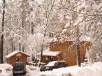 Sierra Zen - Winter Scene