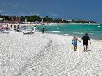 Walk the beautiful soft sand beaches