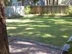 Modesto Cabin back yard
