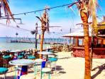 Grab a casual lunch in the sun at Seacrets/Jamaica USA...only 9 short blocks away