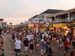 Food and Fun awaits you on the Boardwalk!