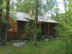 3 bedroom log home, Driggs Idaho in the Tetons