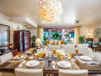 Castaway Cove C201 - Spacious Ocean View Great Room, Dining and Alfresco Covered Terrace with Lounging Area. Great Room...