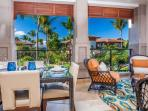 Castaway Cove C201 - Ocean View Fresh Air Covered Dining Terrace with Viking BBQ Grill and Lounging Area