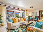 Castaway Cove C201 - Spacious Ocean View Great Room and Alfresco Covered Terrace with Lounging Area