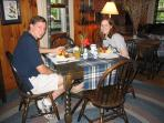 Gourmet breakfast at Colonial Pines may be purchased if the Inn is not full. It doesn't hurt to ask!