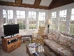 Another angle of the beautiful sunroom