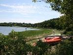 Bring a Kayak or rent one and enjoy a day on the water