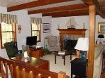 Another view of the living room in main house.