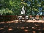 Grill and dine beneath the stars on the large side deck.