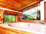 Rushing Waters Cabin-Jacuzzi Tub